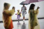 下一波雨水今夜就到杭州 别慌!这次仅仅以阵雨为主