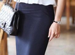 一步裙铅笔裙A字裙三大经典裙子怎样搭配