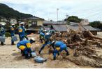 西日本暴雨死亡人数升至219人 6万余人投入灾后救援