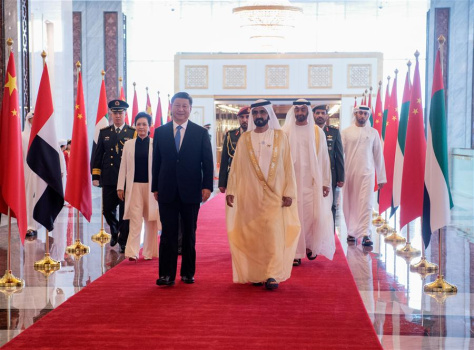 Xi's visit a milestone in UAE ties