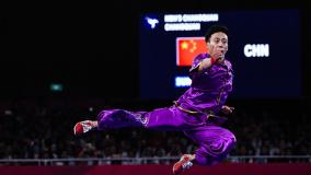 中国长拳选手孙培原摘雅加达亚运首金