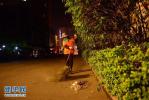 景县80后小伙为村里捐建42盏太阳能路灯