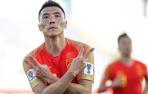 中国男足亚洲杯开门红