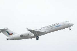 天驕航空接收首架ARJ21飛機