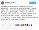 金特会无协议而终 特朗普炮轰:都赖民主党