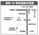 郑州地铁14号线一期工程可研报告获批 设车站6座全长7.455千米