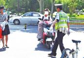 郑州交通违法综合整治提升 骑车横过快车道将受到处罚