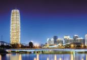 喜迎民族运动会 2000多栋楼宇将在下月亮灯扮靓夜郑州
