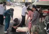 郑州女孩晕倒街头,一群陌生人紧急援助
