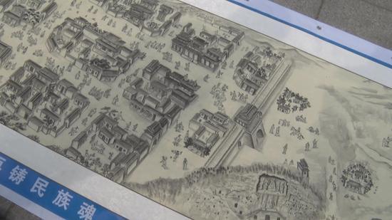 郑州老人约70后画家绘制丝绸之路 已完成19米