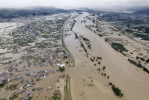 """台风""""海贝思""""已致11死126伤 日本海上自卫队阅舰式被迫中止"""