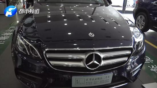 夫妻俩郑州47万买奔驰开俩小时坏了 郑州汇升奔驰4S店避而不谈