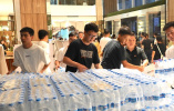 去新乡!中华网河南频道党支部援助抗洪救灾