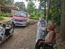 许昌建安区:流动核酸检测车开到群众家门口