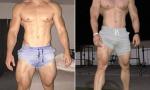 美健身教练身材逆天 一身肌肉由于艺术品