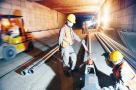 沈阳市南北快速干道第一标段隧道开始公共设施装修