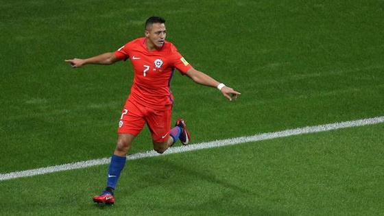 联合会杯-桑切斯破门智利1-1德国 或携手出线