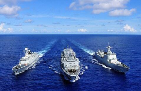 中国舰艇编队引西方关注 接力欢迎还是密切监视?
