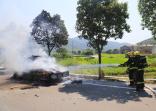 舟山一皮卡车突然起火 高温天如何预防汽车自燃?