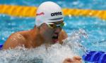 世锦赛200米个人混合泳 汪顺摘铜很开心