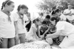 中小学生开展防溺水活动