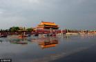 雨后天安门广场美如画
