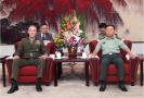 范长龙在北京会见美军参联会主席邓福德
