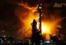 中石油大连石化分公司发生火灾 组图