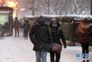 芝加哥遭遇严寒天气