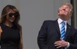 """美国人""""全民看天"""",特朗普一个动作引爆社交媒体"""