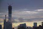 被大雨洗过的北京