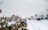 雄安新区2018年第一场雪