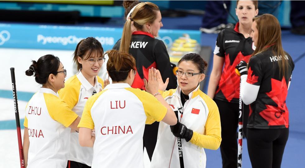 """360北京快乐8开奖结果:中国女子冰壶队赢得""""生死大战""""留住晋级希望"""