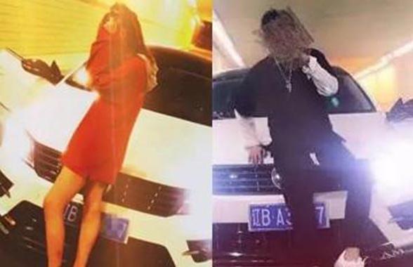 大连任性男女隧道里停车拍片引争议 交警已介入调查