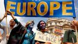 英国工党年会遭遇反脱欧大游行