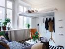单亲妈妈打造的小公寓 古朴与现代结合的瑞典风