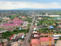 航拍美丽老挝