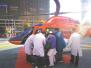 人保南阳分公司  空中直升机紧急救援危重病人