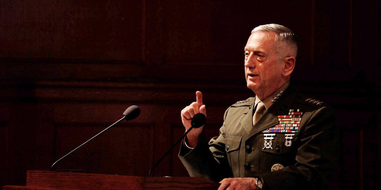 必发彩票怎么样:马蒂斯:核武器都是战略性的 支持低当量核武器方案