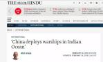 中国庞大舰队驶向马尔代夫?马代刚辟谣,印度海军的大动作就曝光了!