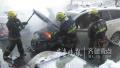 济南一小区内私家车突然起火 消防官兵赶到及时扑灭