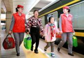 出行高峰!中国铁路郑州局今日预计发送旅客59.1万人