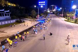 女白领夜跑后,体内一半的血流没了!女性生理期能跑步吗?