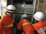 京港澳高速三车追尾致3人被困 石家庄消防紧急救援