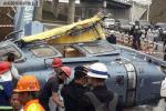 印尼直升机降落时坠毁 1名地勤遇难6名中国人受伤