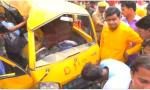 代价太大!印度一校车司机驾车听音乐酿车祸 13名儿童遇难