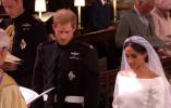 """直击英国哈里王子世纪婚礼现场:哈里不停抹泪 新娘不宣誓""""服从"""""""