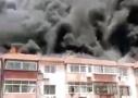 北京密云居民楼起火