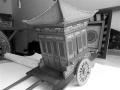 老李就爱木匠活儿 三年半打造17辆古代版豪车