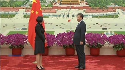 习近平接受十三国新任驻华大使递交国书